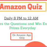 Amazon Quiz Answers Today 4th December 2020 Quiz