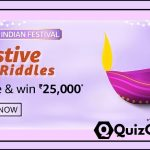 Amazon Festive Riddles Quiz Answers 30 October 2020