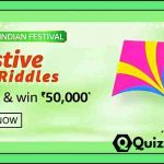 Amazon Festive Riddles Quiz Answers – win 50000/- Rs Pay Balance.