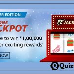Amazon FunZone Jackpot Quiz Answer 'Winter Edition' - Win Rs. 1,00,000