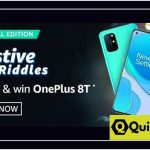 Amazon Festive Riddles Quiz Answers win OnePlus 8T