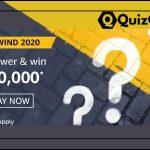 Amazon Rewind Quiz 2020 Answers: Win Rs.20,000