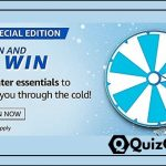 Amazon Spin and Win 'Special Edition' Quiz Answer