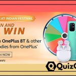 Amazon Spin and Win - win OnePlus 8Tv and other goodies from OnePlus