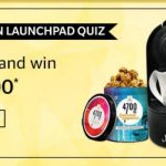 Amazon Amazon Launchpad Quiz Answers - Win Rs 10,000/- Pay Balance