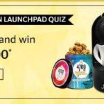 Amazon Amazon Launchpad Quiz Answers - Win Rs 10,000/- Pay Balance