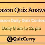 Amazon Daily Quiz Answers Today 9th March 2021