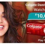 Amazon Colgate Dazzle White Quiz Answers Win Rs.10000 Pay Balance
