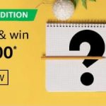Amazon January Edition Quiz Answers And Win Rs. 20,000 Pay Balance