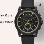 Amazon Armani Exchange Valentine's Day Quiz Answers