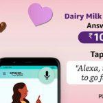 Amazon Dairy Milk Silk Alexa Quiz Answers win 10000 Pay Balance