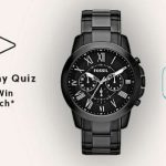 Amazon Fossil Valentine's Day Quiz Answers Win a Fossil Watch
