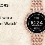 Amazon Michael Kors Gen5e Quiz Answers win a Michael Kors Watch