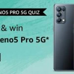 Amazon OPPO Reno5 Pro 5G Quiz Answers win OPPO Reno5 Pro 5G