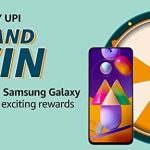 Amazon Pay UPI Spin and Win Quiz Answers win Samsung Galaxy M31s
