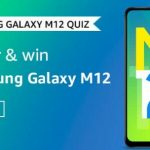 Amazon Samsung Galaxy M12 Quiz Answers win Samsung Galaxy M12