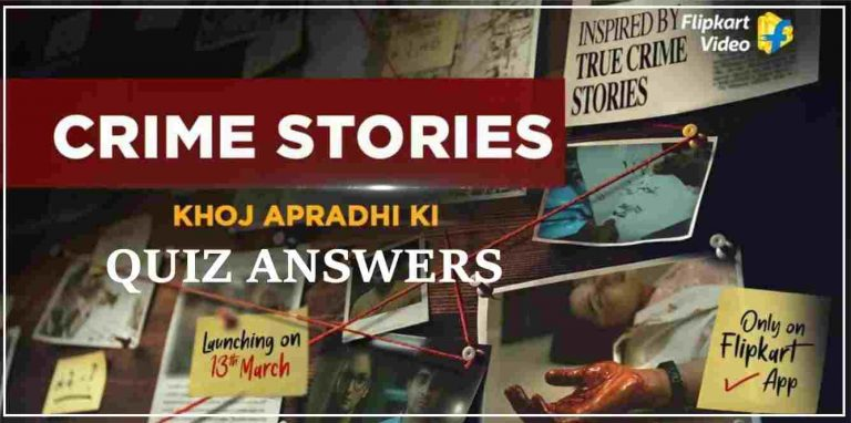 Amazon Crime Stories Quiz Answers